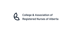 College & Association of Registered Nurses of Alberta logo